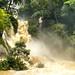 Indiana Jones at Kuang Si Waterfall