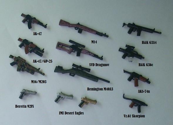 call of duty modern warfare based n the real guns and