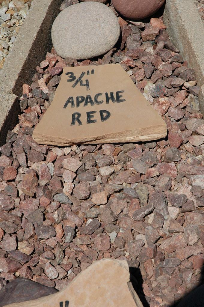 20080227 Pioneer Gravel 3 4 Quot Apache Red Pioneer