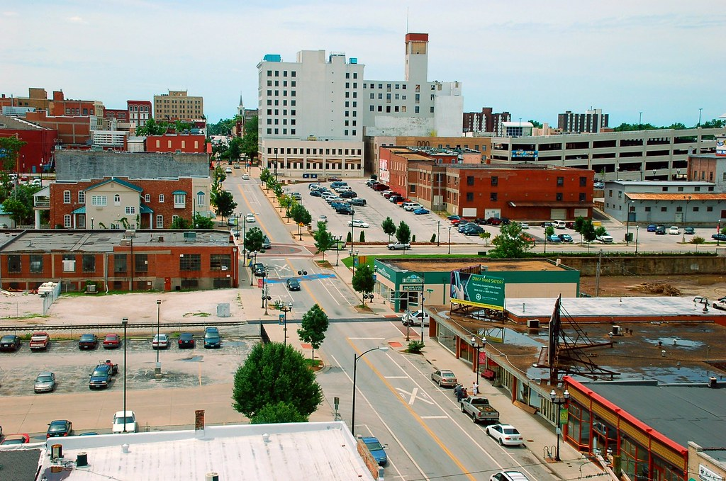 Downtown Springfield Mo From Innovation Center Downtown