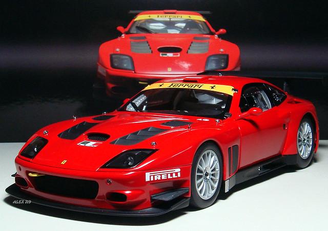 Ferrari 575 Gtc Evoluzione 2005 118 By Kyosho Alexko Flickr