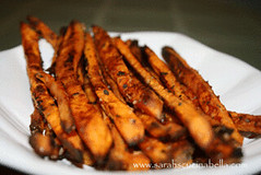 Parmesan Rosemary Sweet Potato Fries | by Sarah :: Sarah's Cucina Bella
