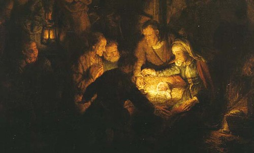 Rembrandt Hirten Nativity Scene | marc.bohn | Flickr