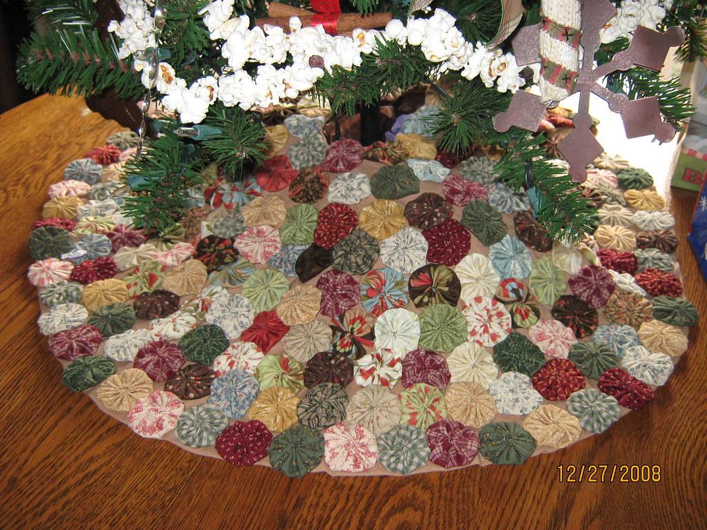 Yoyo Tree Skirt Cary Kornegay Flickr