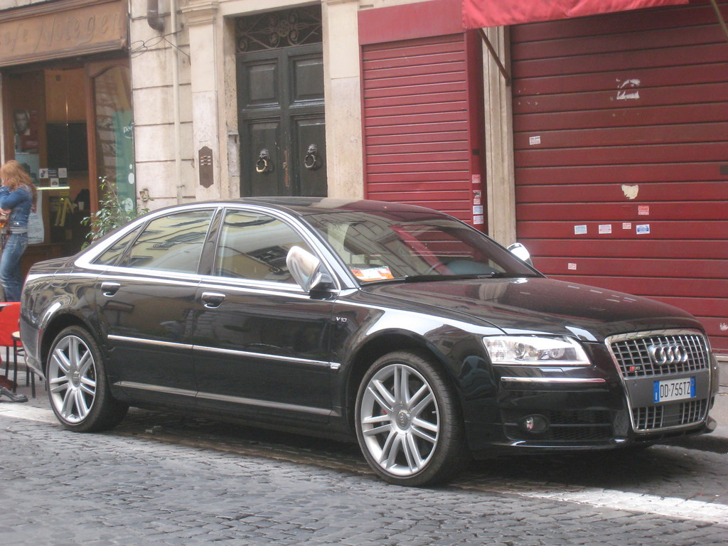 Audi Rs8 V10 Picture Taken In Roma K Madsen Flickr