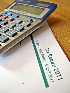 Calculator and tax return | by Images_of_Money