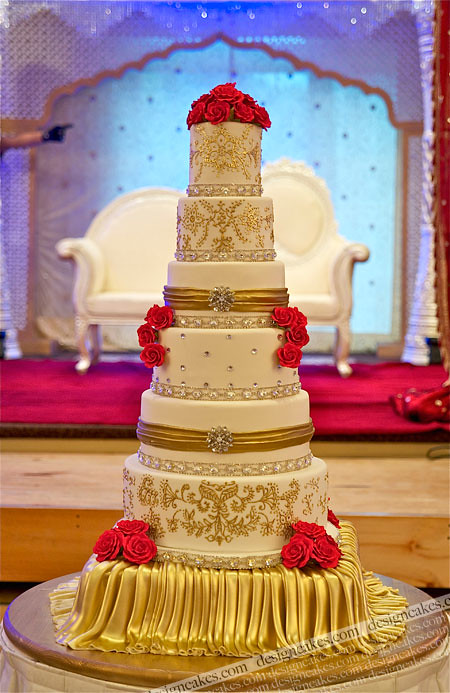 Wedding Cake Presentation Ideas
