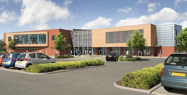 New Sports Centre At Birmingham City University City North