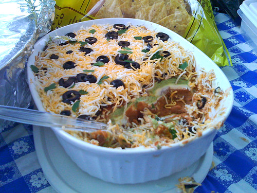 6-Layered Bean Dip | by mooshee85