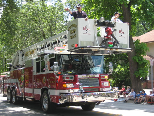 Downers Grove July 4 Parade - Westmont Fire Truck | by skeggy