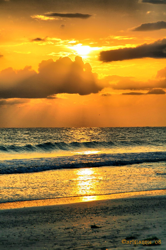 Sunset On St. Pete Beach 2