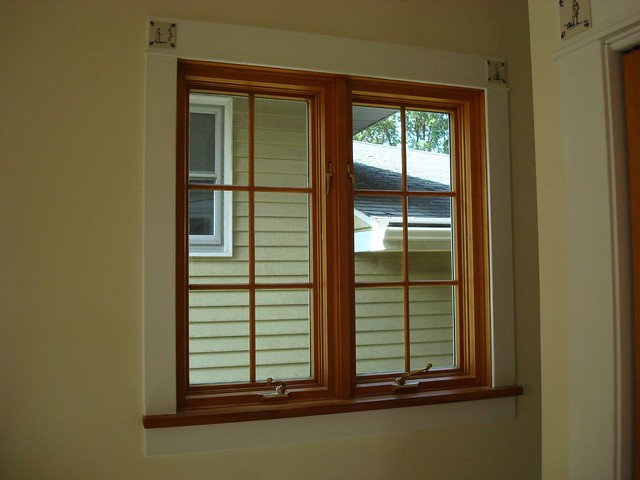 Double Awning Windows : Installed pella double casement window on benton ginniej
