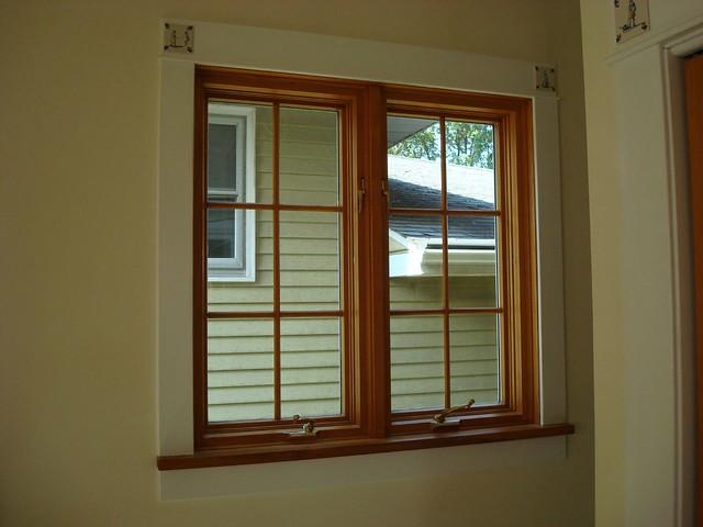 Installed Pella Double Casement Window On Benton Ginniej