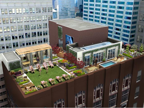 Mda City Apartments Chicago Roof Top Skytop Skypark Flickr
