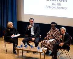 Ben Affleck launching 'Gimme Shelter' humanitarian appeal | by UNHCR