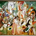 One Year the Milkweed, 1944, oil on canvas by Arshile Gorky