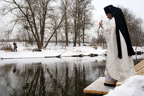 Epiphany bathing in New Jerusalem's monastery | by hegtor