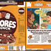 General Mills - S'mores Crunch Cereal Box - 1984