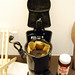 Yes, the office coffeemaker resembles Darth Vader