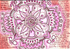 "063008 And this is my Reality. Elemental Mandala Doodle | by Stephanie ""Biffybeans"" Smith"