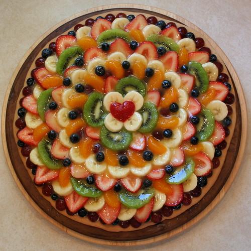 Fruit Pizza - June 2008 | I love how the blueberries dress t ...