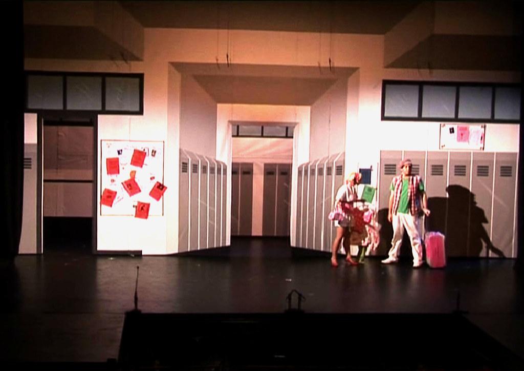 High school musical set designer nathan weyers set desig flickr - Home decor school set ...