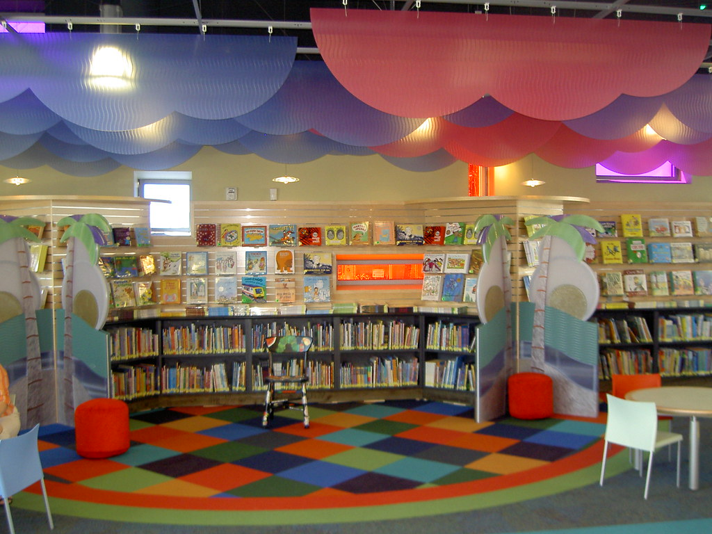 Childrens Storytelling Area At Alum Rock San Jos