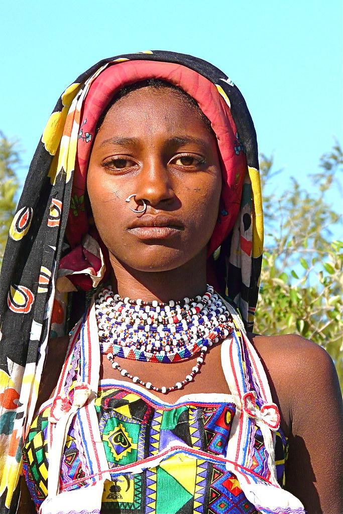 West Nuba Mountains  The Fulani Woman De Fulani Vrouwen -8686