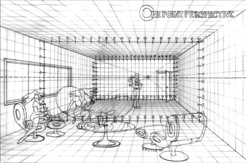 One Point Perspective Building Designs