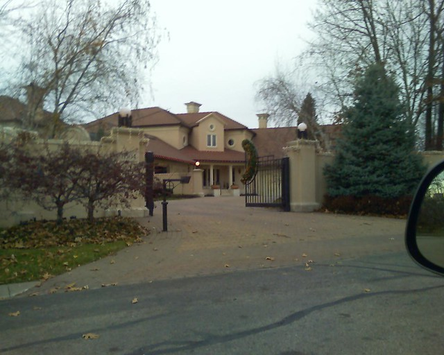 Eddie Griffin house in Kansas City, Missouri