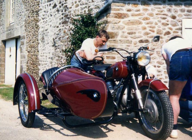 Side Car Bmw Le Side Car R50 2 D Un Pote En Bretagne Flickr