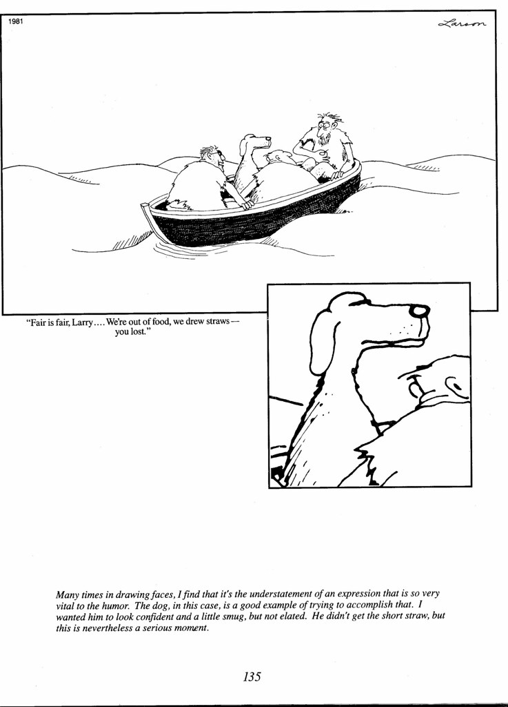 11 far side | notice how the dog's expression here ...