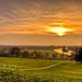 Richmond hill sunset