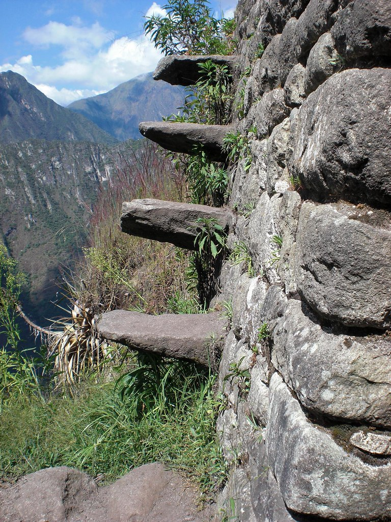 Inca Floating Stairs A Nice Side Trip Off The Main Trail