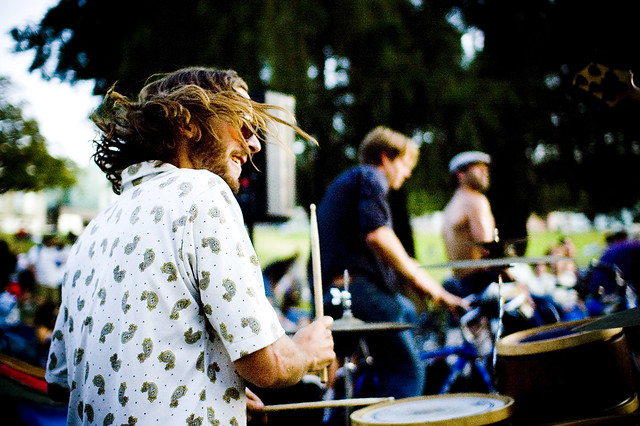Brock of the Ginger Ninjas at the Bike Music Festival | Flickr