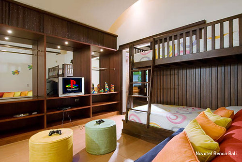 Novotel Benoa Bali Family Suite Children Room Photo