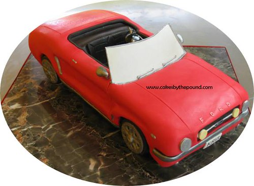 1965 Ford Mustang Convertible Cake This Mustang Has A