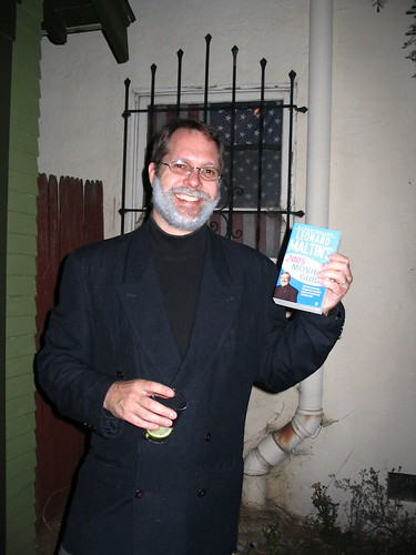 Library party 2005Terry as Leonard Maltin | by cgkinla