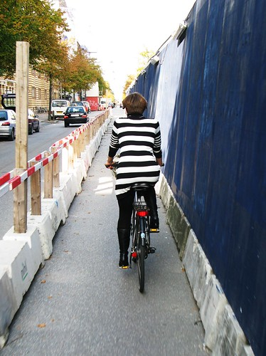 Stripes in the Bike Lane | by Mikael Colville-Andersen