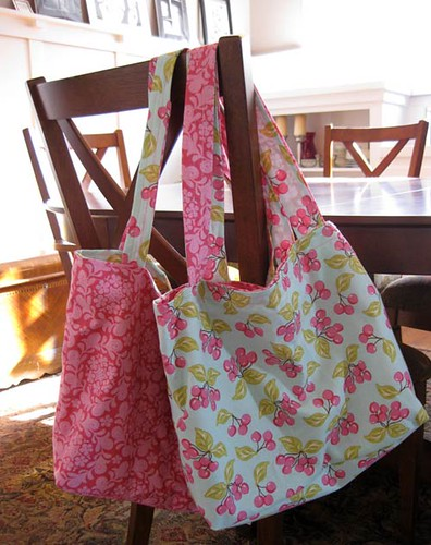 homemade shopping bags | modern cottage | Flickr