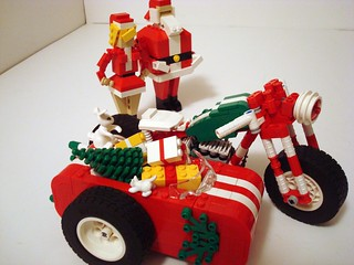 """All But Four"" LUGNuts Challenge Entry (3 of 3!)... Santa's Little Bobber 