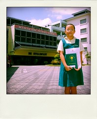 (Pola) Sheryl at Blangah Rise Primary School by Edricism