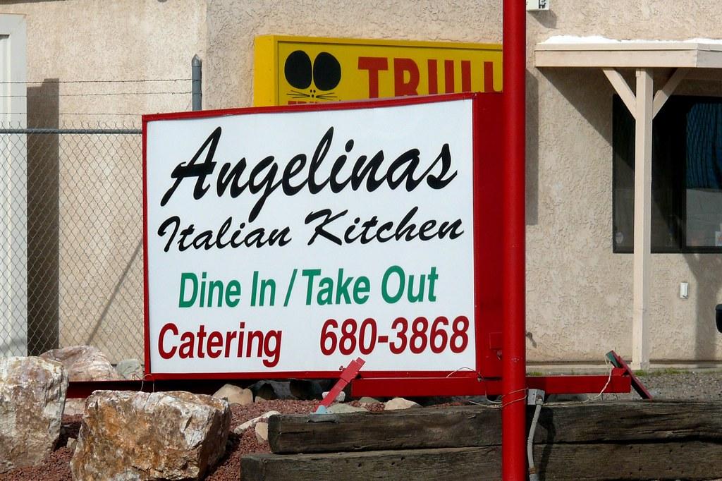 Angelina S Italian Kitchen Lake Havasu City Az Menu