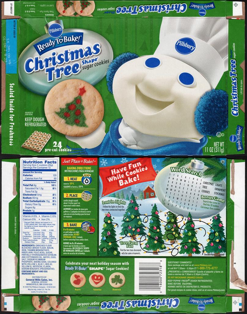 pillsbury ready to bake christmas tree shape sugar cookies flickr - Christmas Tree In A Box