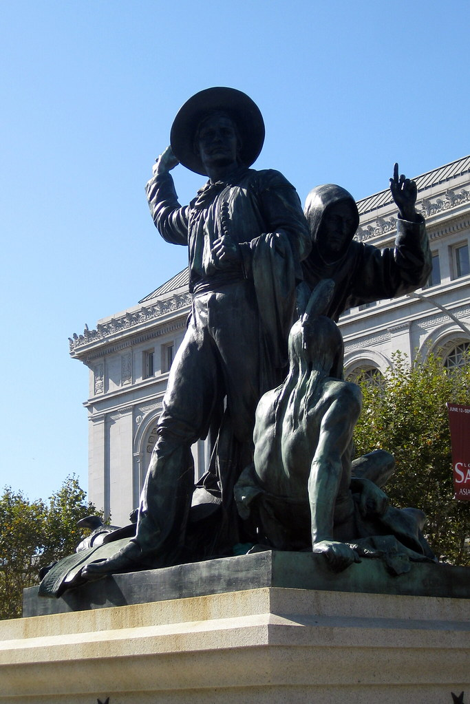 San Francisco - Civic Center: The Pioneers Monument - Earl ...