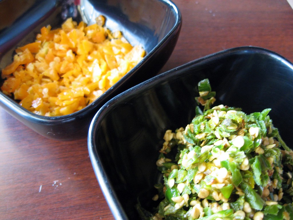 Fresh Habanero And Thai Peppers Ronin Sushi Cafe In