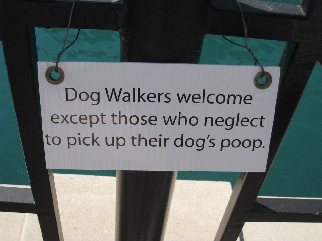 Funny Dog Poop Signs Home Depot