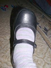 pinkgreen striped socks2