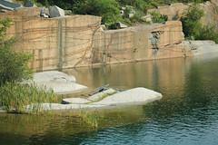 Halibut Point's rock quarry