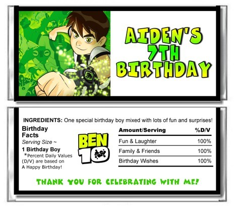 Ben 10 Birthday Party | Ben 10 Birthday Party Ideas and ...